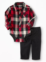 Old Navy 2-Piece Bodysuit and Pants Set for Baby