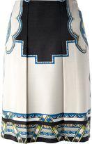 Etro abstract print skirt