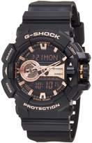 Casio Men's G-Shock GA400GB-1A4 Plastic Quartz Sport Watch