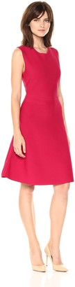BCBGMAXAZRIA Azria Women's Lacee Knit Fit and Flare Dress