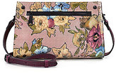 Patricia Nash Dusty Rose Collection Turati Vintage Floral Convertible Cross-Body Bag