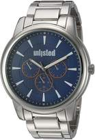 UNLISTED WATCHES Men's 'Sport' Quartz Metal and Alloy Casual, Color:Silver-Toned (Model: 10030899)