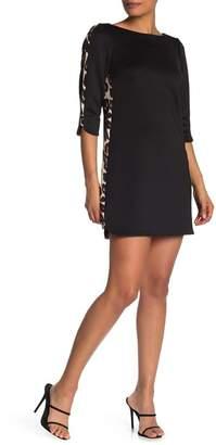 Vince Camuto Leopard Stripe Sheath Dress