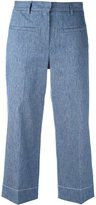 Lorena Antoniazzi cropped trousers - women - Cotton/Linen/Flax/Polyester/Cupro - 40