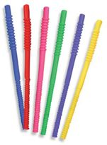 Tervis 11-Inch Assorted Color Straws (Set of 6)