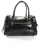 Dolce & Gabbana Dolce &Gabbana Black PatentLeather Miss Easy Way Medium Satchel HandBag