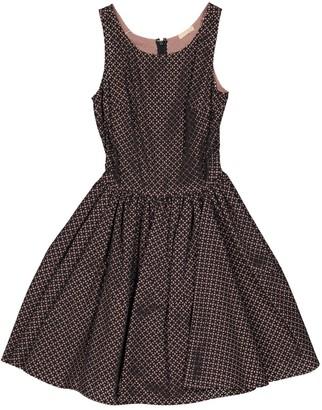 Alaã ̄A AlaAa Grey Cotton Dresses