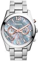 Fossil Women's 'Perfect Boyfriend' Chronograph Bracelet Watch, 40Mm