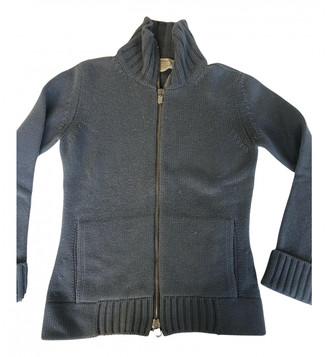 Agnona Blue Cashmere Knitwear