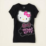 Hello Kitty glitter dots graphic tee