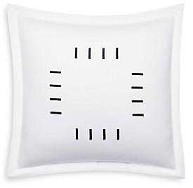 Vera Wang Zig Zag Throw Pillow, 18 x 18