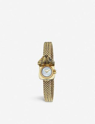 Gucci YA146510 Le Marche des Merveilles yellow-gold watch