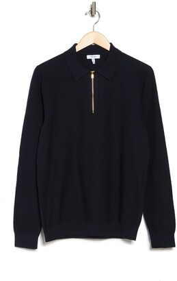 Reiss Matias Stitch Interest Polo