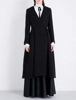 Temperley London Palm metallic woven coat