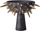 L'OBJET Celestial Bowl on Stand - Black & Gold - Small