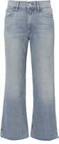 3x1 Shelter Light Blue Wide Leg Cropped Jeans