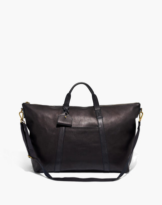 Madewell The Essential Overnight Bag in Leather