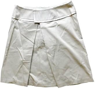 Tara Jarmon Ecru Cotton Skirt for Women