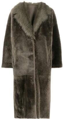 Liska Reversible Shearling Coat