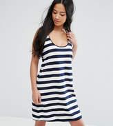 Asos Ultimate Singlet Dress In Stripe