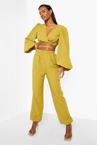 Thumbnail for your product : boohoo Textured Relaxed Fit Joggers