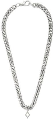 Marcelo Burlon County of Milan Silver Cross Necklace