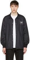 Opening Ceremony Black Logo Coach Jacket