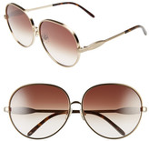 Wildfox Couture Women's Fleur Retro Metal Frame Sunglasses