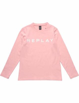 Replay Girl's Sg7091.010.20230 Long Sleeve Top