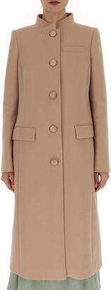 Givenchy Mandarin Collared Coat
