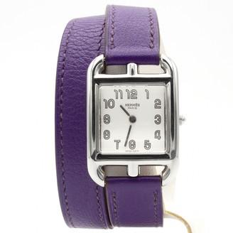 Hermes Cape Cod Purple Steel Watches