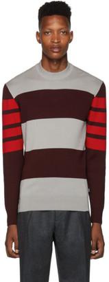 BOSS Grey Knit Bettino Sweater