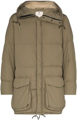 Snow Peak Hooded Padded Oversized Coat