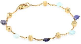 Marco Bicego Paradise Blue 18K Yellow Gold, Blue Topaz & Iolite Bracelet