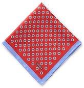 Daniel Cremieux Paisley Medallion Silk Pocket Square