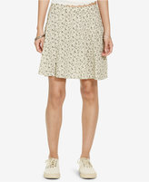 Denim & Supply Ralph Lauren Floral-Print A-Line Miniskirt