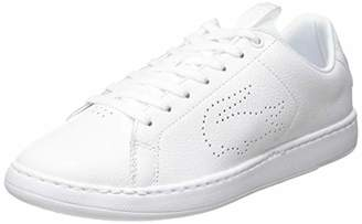 Lacoste Women's Carnaby Light-wt 319 1 SFA Trainers, White 21g