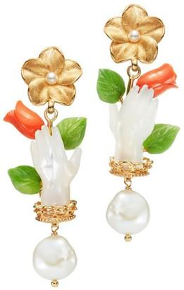 OF RARE ORIGIN Bulb Hand Earrings