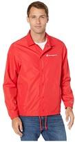 Champion Classic Coaches Jacket (Scarlet) Men's Clothing