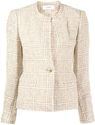 Etoile Isabel Marant fitted tweed blazer