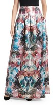 Ted Baker Women's Frelan Mirrored Minerals Print Maxi Skirt
