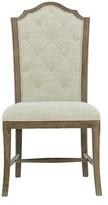 Bernhardt Rustic Patina Side Chair Color: Peppercorn