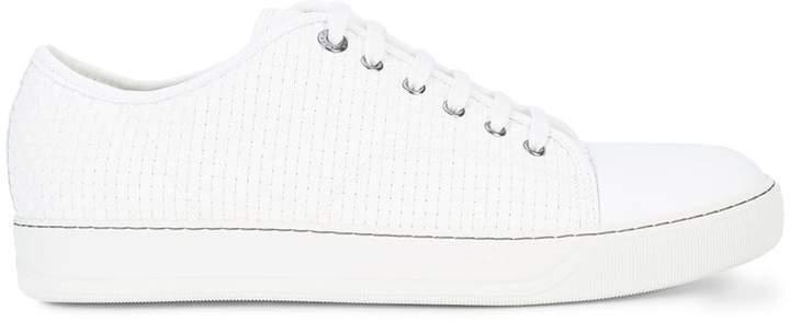 Lanvin textured low-top sneaker