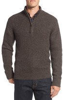 Rodd & Gunn Men's 'Huka Lodge' Merino Wool Blend Quarter Zip Sweater