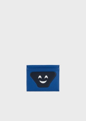 Emporio Armani Card Holder With Emoji Patch