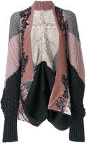 Antonio Marras embellished cardi-coat - women - Acrylic/Polyester/Spandex/Elastane/Alpaca - S