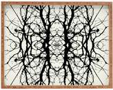 Deny Designs Tree Silhouette Large Rectangular Tray