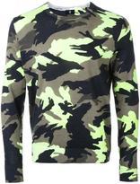 Kent & Curwen camouflage slim-fit jumper - men - Wool - M