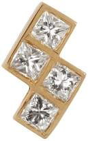 Ileana Makri Diamond & yellow-gold single earring