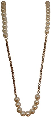Chanel Gold Pearls Long necklaces